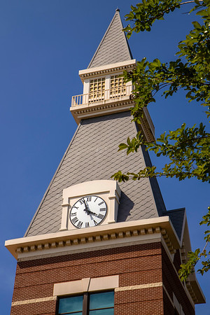 Baylor Sciences Building - BSB - clock tower