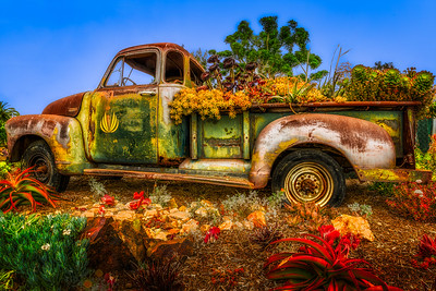 Rusted Landscaper's Truck