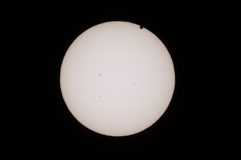 The next twelve images are of the Venus Transit of the Sun that took place on June 5, 2012. The sequence is from the start to about 2/3 of the way through the entire transit. I had to be somewhere else and could not get the entire transit.