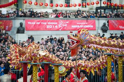 Chinese New Year 2014 London