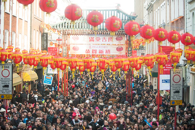 Chinese New Year 2014 London