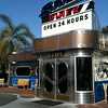 Studio Diner - San Diego, CA. A 24-hour diner next door to a working movie studio.