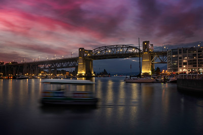 Burrard Bridge Sunset