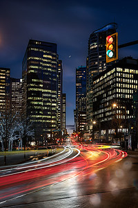 Downtown Vancouver on a Friday Night