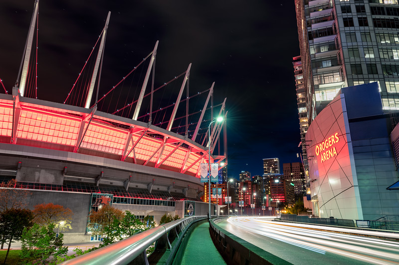 BC Place and Rogers Arena