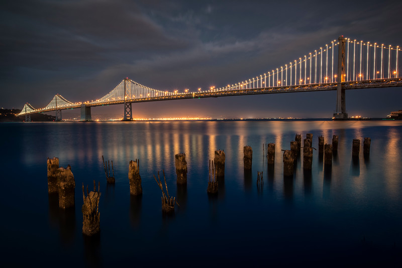 Western span of the Oakland Bay Bridge