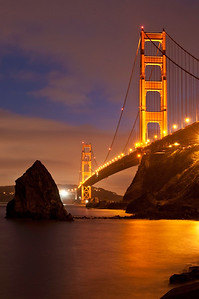 North Tower of the Golden Gate Bridge 2