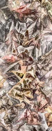 Leaves #151 - Pleasant Pastel Series