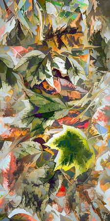 Leaves #199 - Suspicious Spectrum Series