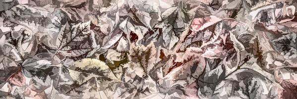 Leaves #144 - Pleasant Pastel Series