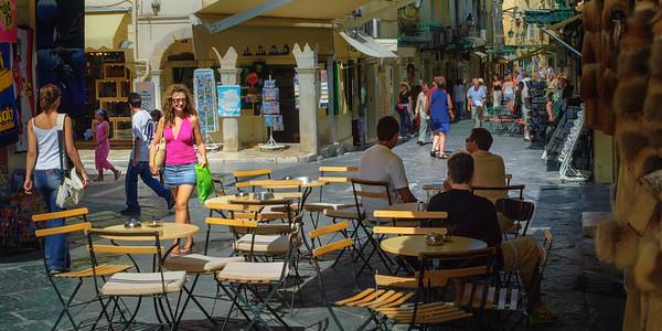 Corfu Street Scene #4