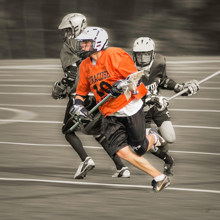Boy's Club Lacrosse #1, Stylized