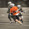 Boy's Club Lacrosse #1, Stylized