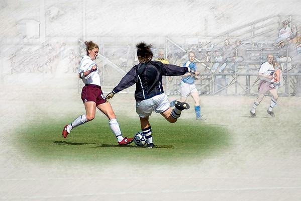 Salisbury Women's Soccer #2, Stylized