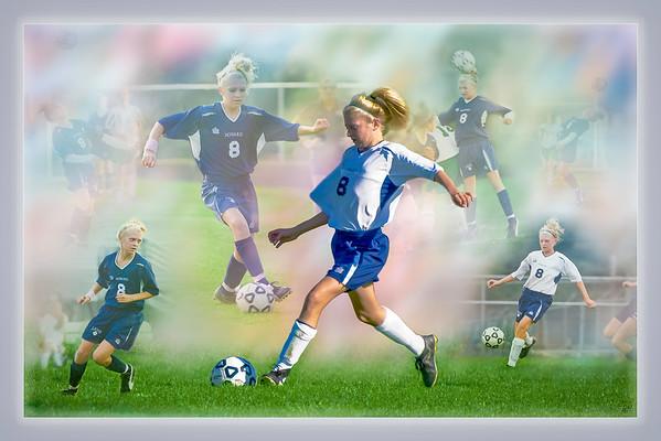 Women's High School Soccer #4, Player Montage
