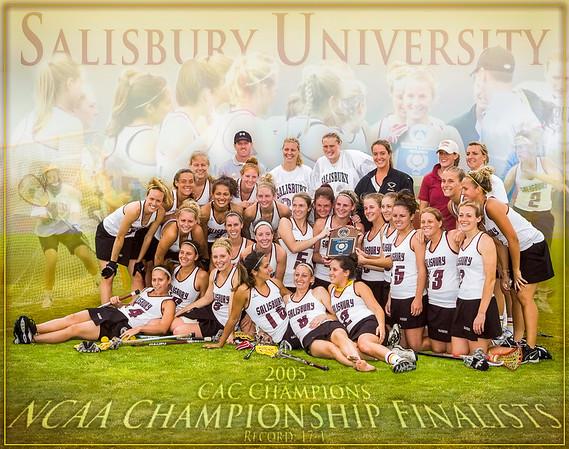 Salisbury Women's Lacrosse Montage 2005