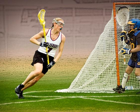 Salisbury Women's Lacrosse #27, Stylized