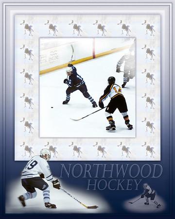 Boarding School High School Hockey #1, Montage Poster