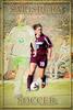 Salisbury Women's Soccer #3, Stylized Poster