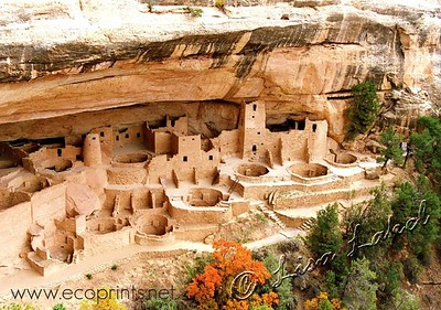 Mesa Verde National Park near Cortez, Colorado, has some of the best preserved Ancestral Puebloan archaeological sites in the country, dating back to around 1200 when the Ancestral Pueblo people began living in homes beneath overhanging cliffs.