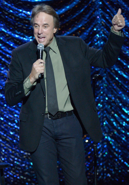 Kevin Nealon never fails to please the crowd with his astute observations.