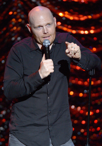 Bill Burr explains it all for the audience.
