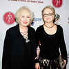 Doris Roberts with Loraine Boyle, the late Peter Boyle's widow, 2007