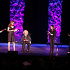 From left to right:  Rita Wilson, Alex Meneses, Doris Roberts, Patricia Heaton, and Leslie Nicol perform a scene, 2014.