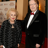 Doris Roberts with IMF Chairman of the Board Dr. Brian Durie, 2014.