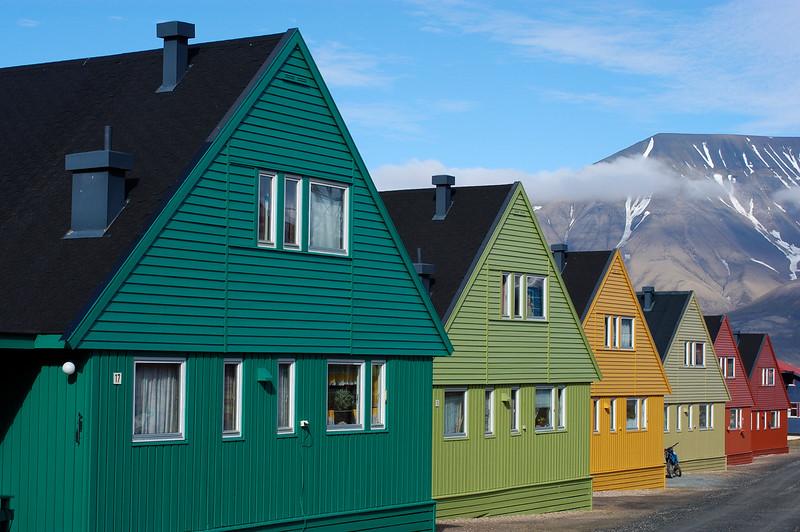 A view of Longyearbyen