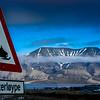 Scooterløype in Longyearbyen