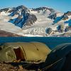 Svalbard campsite