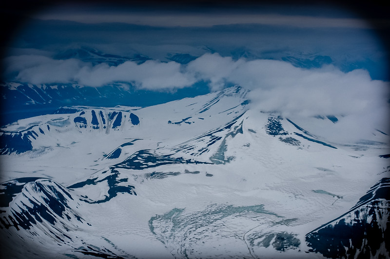 Flying to Svalbard