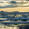 Sunset on Ice (Svalbard)