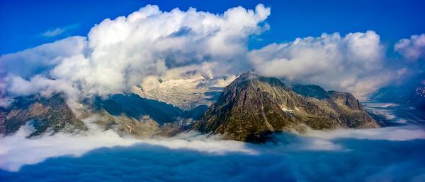 Aletsch Glacier Panorama