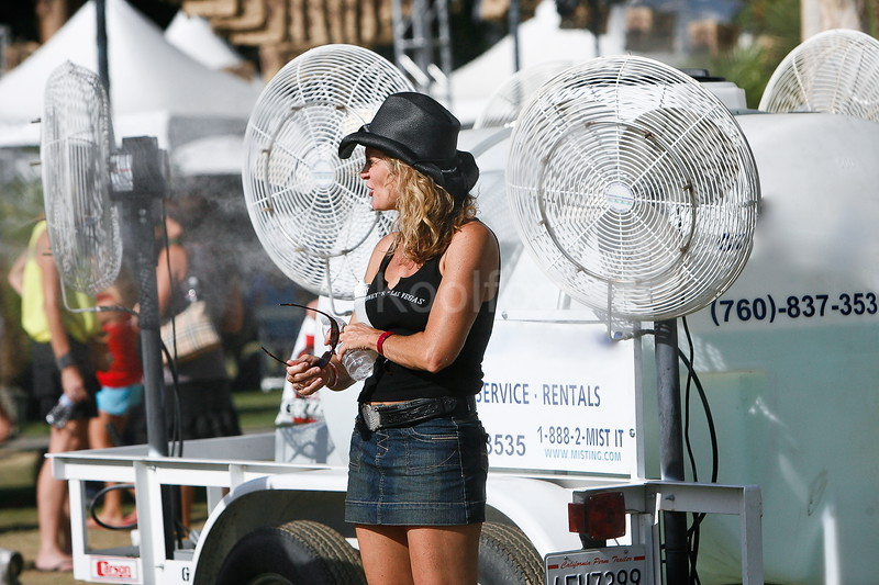 Stagecoach misting fans