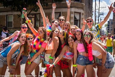 Pride Parade Chicago - June 29, 2014