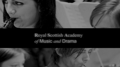 Oboes at 1 o' clock: Royal Scottish Academy of Music and Drama