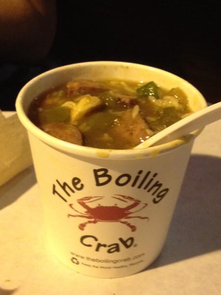 Gumbo at The Boiling Crab - Mira Mesa, CA