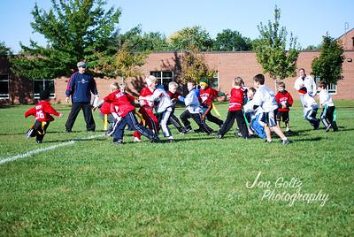 20101002-2nd Grade Flag Football Game 4-19
