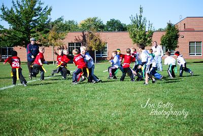 20101002-2nd Grade Flag Football Game 4-18