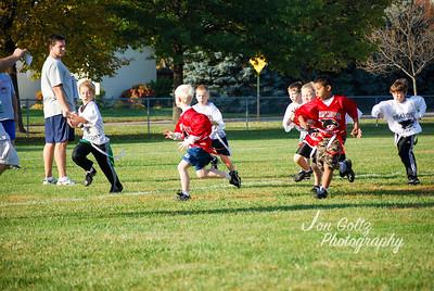 20101009-2nd Grade Flag Football Game 5-3