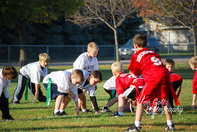 20101009-2nd Grade Flag Football Game 5-1