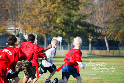 20101009-2nd Grade Flag Football Game 5-4