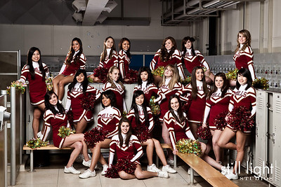 Mills Highschool Cheerleading