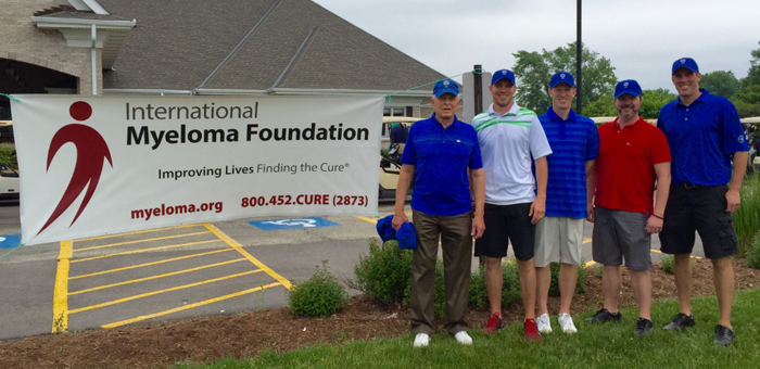 Czerskies Golf tournament in honor of their mother in Illinois, w/ Paul Hewitt.