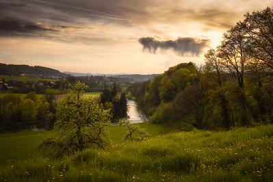 Dusk at Thurgau (Switzerland)
