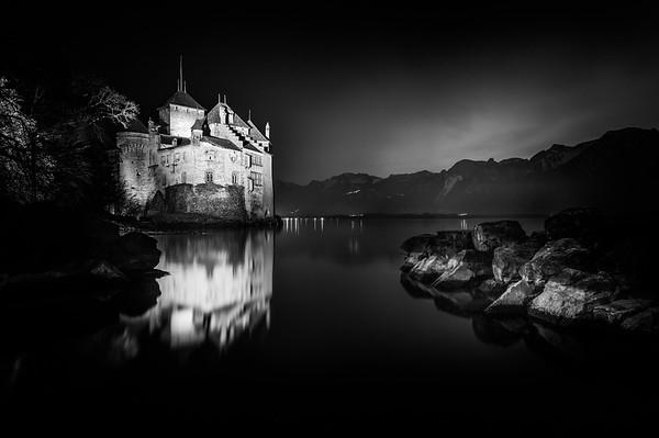 Chillon Castle (Lake Leman) | Schloss Chillon (Genfersee)