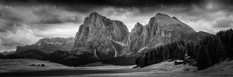 Sassolungo e Sassopiatto | Langkofel und Plattkofel (Dolomite Alps)
