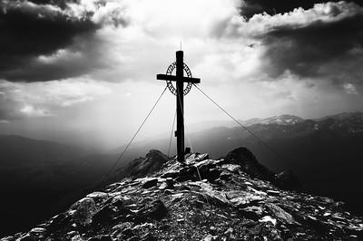 Wanderurlaub mit Dirk in Österreich - Von der Kramerhütte (1604m) zum Reitereck (2790m)